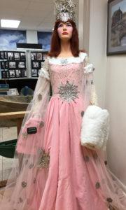 Mardi Gras ball gown