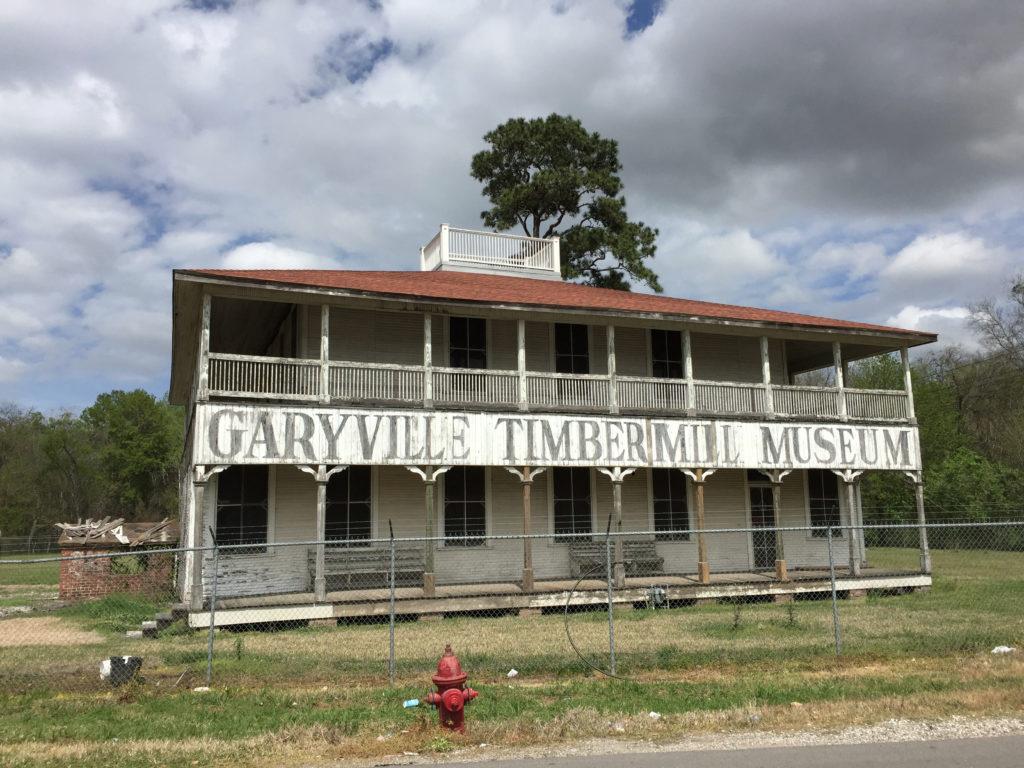 garyville timber mill museum