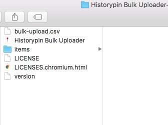 File manager for bulk uploader