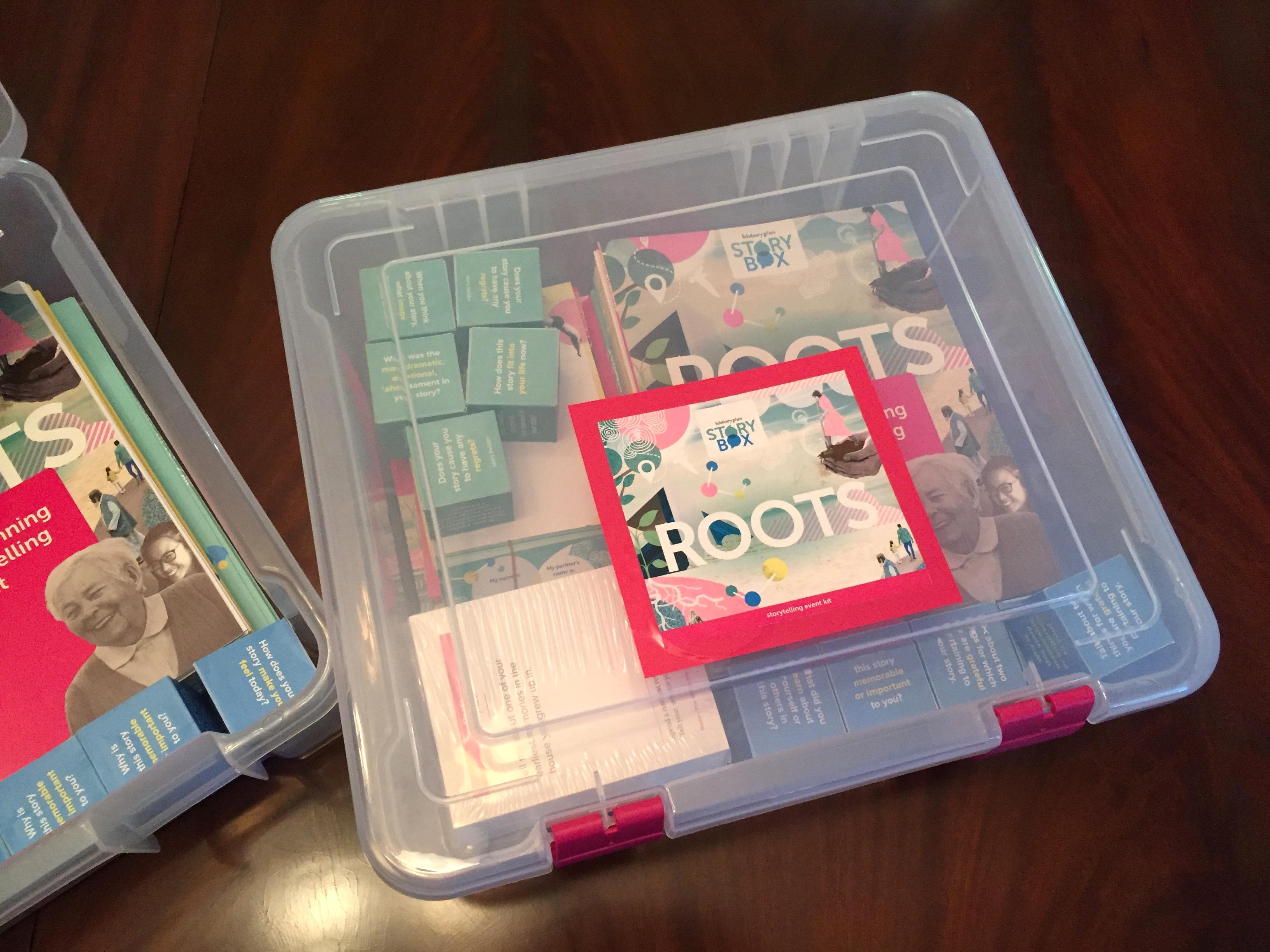 Storybox prototype