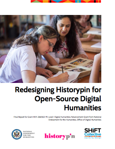 cover of report on redesigning Historypin